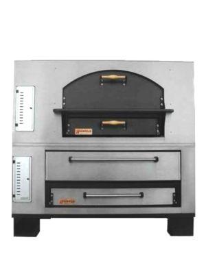 Marsal MBC-660 Gas Combo Pizza Oven - 260,000 BTU