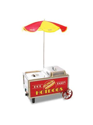 "Winco 60072 Benchmark Hot Dog Mini Cart - 12""Wx13""Dx15""H, 120V"