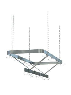 "Sapphire SM-CR96 96""W Ceiling Hung Pot Rack"