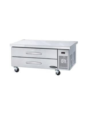 "MVP Group KCB-60-2M Kool-It Series  60""W Refrigerated Chef Base - FREE SHIPPING W/OUT LIFTGATE"