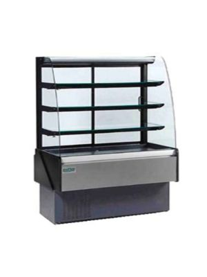 "MVP Group/Hydra Kool KBD-CG-60-S Refrigerated Bakery Display Case - 59-1/8"""
