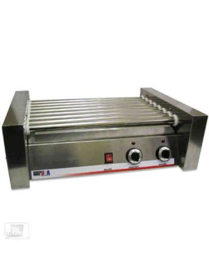 Winco 62020 Benchmark 20 Hot Dog Roller Grill, 120V