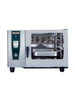 Rational 62 (A628106.19E) Combi Oven, Six Full Size Sheet Pan Capacity - Natural Gas -FREE SHIPPING WITH LIFT GATE!