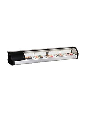 "Everest ESC71L Countertop Refrigerated Sushi Display Case 71""   FREE SHIPPING W/O LIFTGATE"