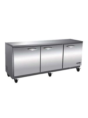 "MVP Group IUC72F IKON Series 72"" Three-Section Undercounter Freezer FREE SHIPPING W/O LIFTGATE"