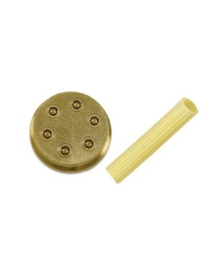 "Sirman Pasta Die 28180077 - N.77 Maccheroni Rigati 5/6""- 8mm for Sirman Pasta Machines"