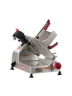 "Berkel 827E-PLUS 12"", 1/3 HP Manual Gravity Feed Slicer - Free Shipping Without Liftgate!"
