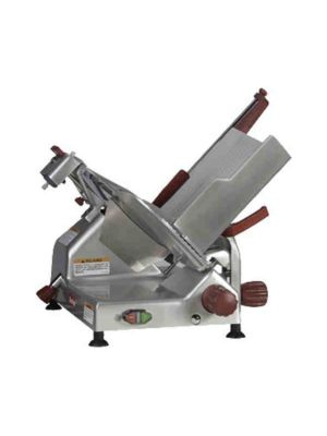 """Berkel 829E-PLUS 14"""", 1/2 HP Manual Gravity Feed Slicer - Free Shipping Without Liftgate!"""