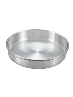 "Winco ACP-103 10"" Aluminum Cake Pan"
