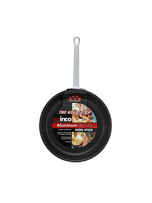 "Winco AFP-12XC Gladiator™ Fry Pan, 12""  Aluminum Alloy, Excalibur Coating"