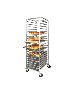 Winco Sheet Pan Rack ALRK-20 Aluminum 20 Tier