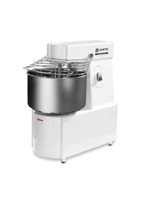 Ampto AMA050M 50lb Flour Capacity 2 Speed Spiral Dough Mixer - 220V 1PH