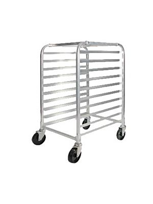 Winco  AWRK-10  Half Height Welded Aluminum 10 Tier Sheet Pan Rack
