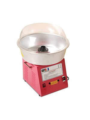 Winco 81011 Benchmark Zephyr Cotton Candy Machine - 60 Cones / Hour, 120V