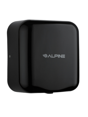 Alpine 400-10-BLA Hemlock Heavy Duty, 110-120V, Stainless Steel, Automatic Hand Dryer - Black - FREE SHIPPING
