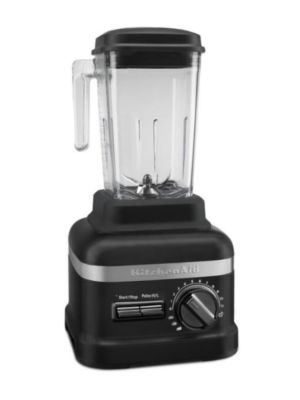 Kitchen Aid KSBC2F1BM Commercial NSF 3.5HP 60 oz Culinary Blender with Variable Speeds- Matte Black