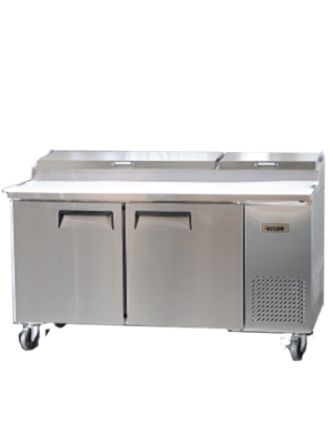 Bison BPT‐67 PIZZA PREPARATION REFRIGERATOR 20 Cu FT