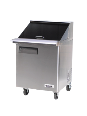 Bison BST‐27‐12 MEGA TOP SANDWICH / SALAD PREPARATION REFRIGERATOR 7.9 cu. ft.