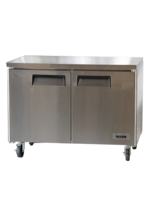 Bison BUF‐48 12 Cu FT REACH‐IN UNDERCOUNTER FREEZER
