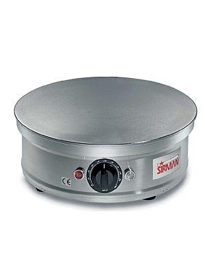 "Sirman 34A9201008SI CREPIERA Countertop 13 3/4"" Electric Crepe Maker"