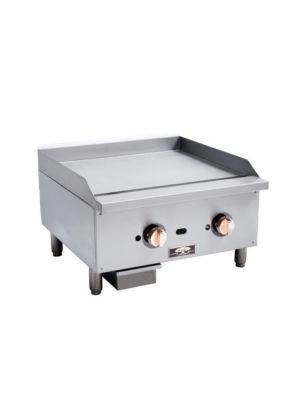 "Copper Beech CBTG-48 48"" Wide Thermostatic Gas Griddle 120,000 BTU"