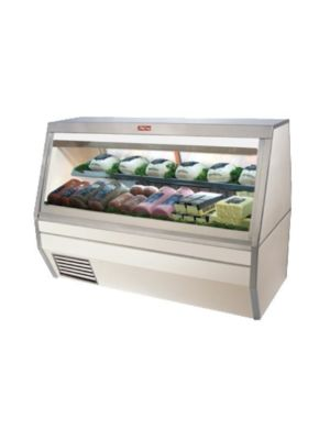 "Howard McCray SC-CDS35-6-LED Refrigerated Deli Case - Double Duty 71"" (White)"