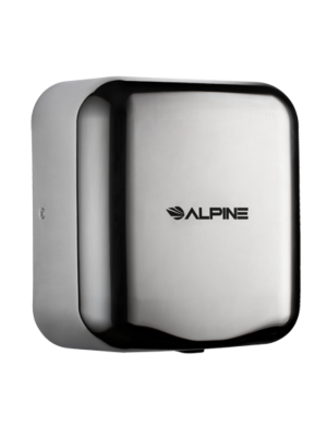 Alpine 400-10-CHR Hemlock Heavy Duty, 110-120V, Stainless Steel, Automatic Hand Dryer - Chrome - FREE SHIPPING