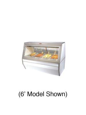 "Howard McCray CHS35-4 Heated Deli Case - Double Duty 50"" (White)"