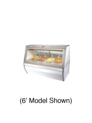 "Howard McCray CHS35-8-LS Heated Deli Case - Double Duty 95"" (White)"