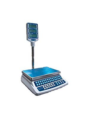 Skyfood Easy Weigh CK-P30Plus 30 lb. Electronic Price Computing Scale With Pole