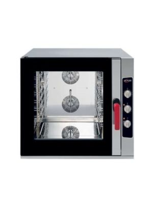 MVP Group AX-CL06M Electric Full Size Combi Oven with Manual Controls - 6 Shelves Capacity - FREE SHIPPING WITH LIFTGATE