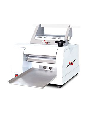 Skyfood CLM-300 Table Top Dough Roller & Sheeter - Single Pass - 4.5 lb. Dough Capacity - 110V