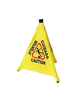 Winco CSF-4 Pop-Up Caution Safety Cone