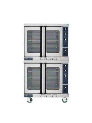 Duke E102-G Gas Double Stack Convection Oven - 80,000 BTU