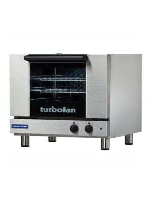 Moffat Turbofan E22M3 - Three Half Size Sheet Pan Capacity Countertop Electric Convection Oven - 110V-120V - Single Phase