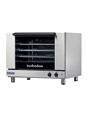 Moffat Turbofan E28M4 - Four Full Size Sheet Pan Capacity Countertop Electric Convection Oven - 208V - Single Phase