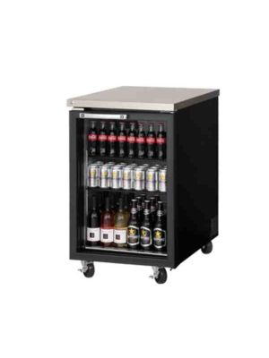 "Everest EBB23G Single Glass Door Back Bar Cooler 23.5""   FREE SHIPPING WITH LIFT GATE!"