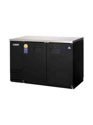 "Everest EBB48-24 Back Bar Refrigerated Cabinet 2 Section - 49"" Wide  FREE SHIPPING WITH LIFT GATE!"