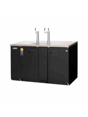 "Everest EBD3-24  Draft Beer Direct Draw Keg Dispenser, 2 Section -  68"" Wide  FREE SHIPPING WITH LIFT GATE!"