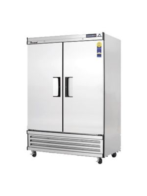 "Everest EBSF2 Two-Door Solid Upright Reach-In Freezer 49-5/8"" - FREE SHIPPING WITH LIFT GATE!"
