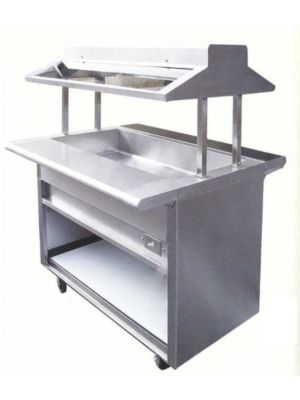 "L&J EBT-84 84"" Electric Buffet Steam Table - 208V - 1 Phase"