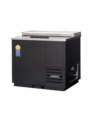 "Everest EGC37 Single Lid Glass and Plate Chiller 36.75""    FREE SHIPPING WITH LIFT GATE!"