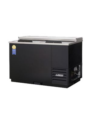 "Everest EGC50 Double Lid Glass and Plate Chiller  49.5""   FREE SHIPPING WITH LIFT GATE!"