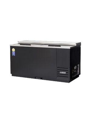 "Everest EGC65 Double Lid Glass and Plate Chiller  64.5""  FREE SHIPPING WITH LIFT GATE!"