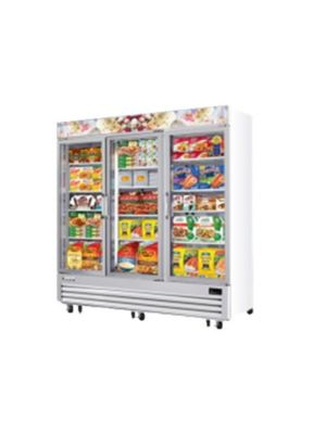Everest EMGF69 Three-Door Glass Freezer 69 ft. - FREE SHIPPING WITH LIFT GATE!