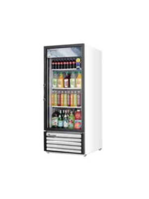 Everest EMGR10 Reach-In Glass Door Merchandiser Refrigerator- WHITE-  FREE SHIPPING WITH LIFT GATE!