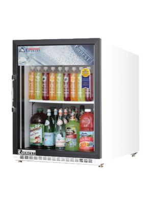 Everest EMGR5 One Door Refrigerator Merchandiser, 5 cu. ft - FREE SHIPPING WITH LIFT GATE!