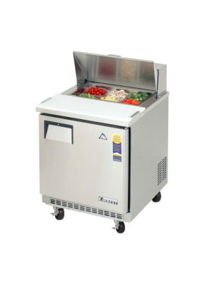 "Everest EPBNR1 Single Door Back-Mount Sandwich Prep Table 27.5""  FREE SHIPPING W/O LIFTGATE"