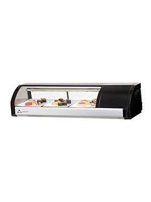 "Everest ESC47R Countertop Refrigerated Sushi Display Case 47.25""  FREE SHIPPING W/O LIFTGATE"