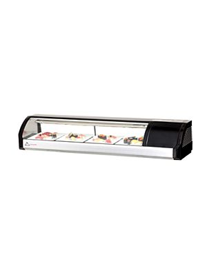 "Everest ESC59R Countertop Refrigerated Sushi Display Case 59""    FREE SHIPPING W/O LIFTGATE"